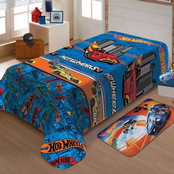 Manta-Infantil-Hot-Wheels-Turbo-Soft-Jolitex