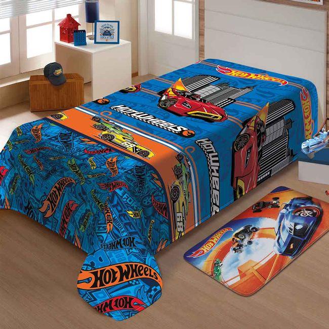 Manta-Infantil-Hot-Wheels-Turbo-Soft-Jolitex