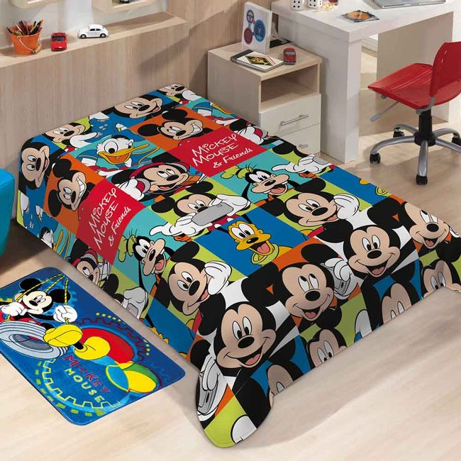 Manta-Infantil-mickey-friends-Soft-Jolitex