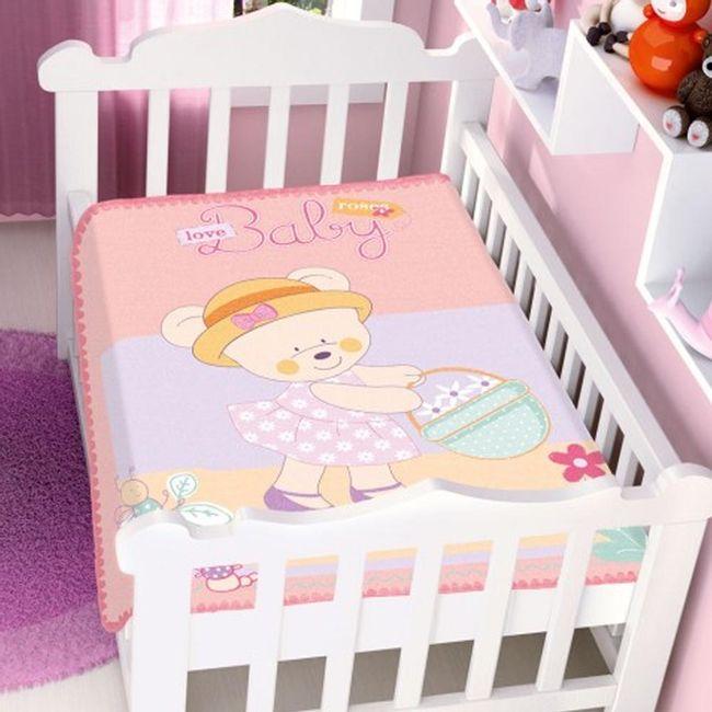 Cobertor-Bebe-Raschel-ursinha-baby-rosa-Jolitex
