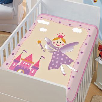 Cobertor-Bebe-Tradicional-fadinha-feliz--Rosa-Jolitex