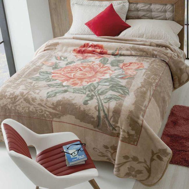 Cobertor-casal-Raschel-elegance-Jolitex