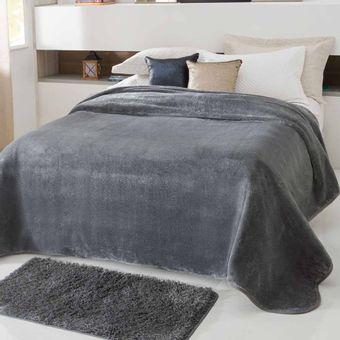 Cobertor-Casal-cinza-Kyor-Plus-Jolitex