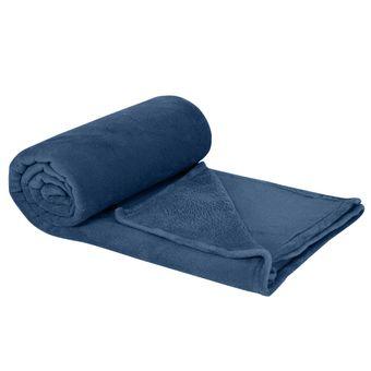 Cobertor-queen-plush-denim-Hedrons