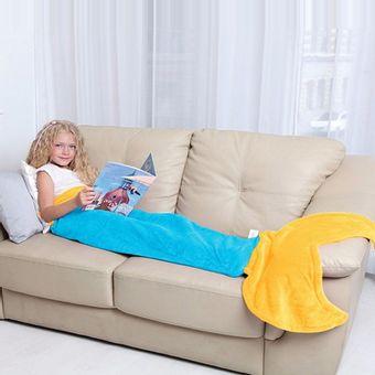 Saco-de-Dormir-Infantil-sereia-azul-Bouton-1