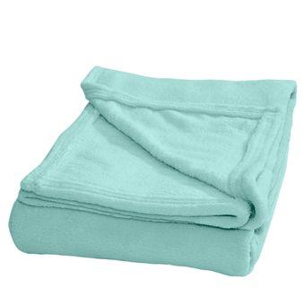 Cobertor-para-Bebe-Plush-Verde-Bebe-Hedrons