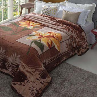 Cobertor-Casal-kenai-marrom-cinta-dyuri-olitex
