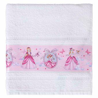 Toalha-Banho-Infantil-Karsten-Princesa-Branca