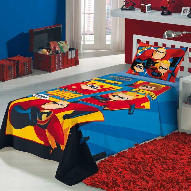 jogo-de-cama-infantil-Os-Incriveis-3-pecas-Lepper