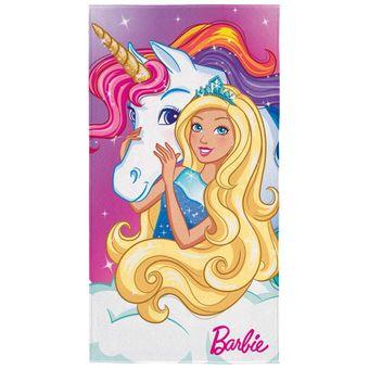 Toalha-de-Praia-barbie-reinos-magicos-Lepper