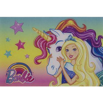 Tapete-Infantil-40-x-60cm-barbie-unicornio-Jolitex