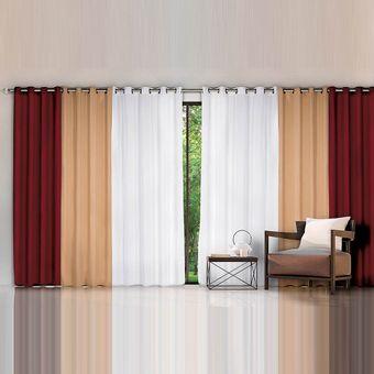 Cortina-para-quarto-e-sala-izaltex-680x230-Vermelho-Caqui-Branco-Helena-Premium
