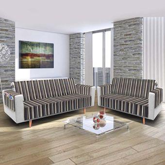 Protetor-de-sofa-3-e-2-lugares-faixas-cinza-ambientada