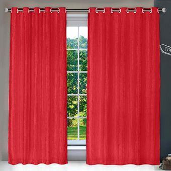 cortina-blackout-cetim-amassado-vermelho-izaltex