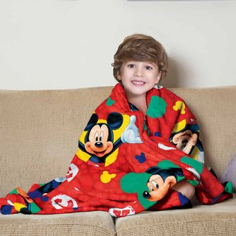 Manta-Fleece-infantil-mickey