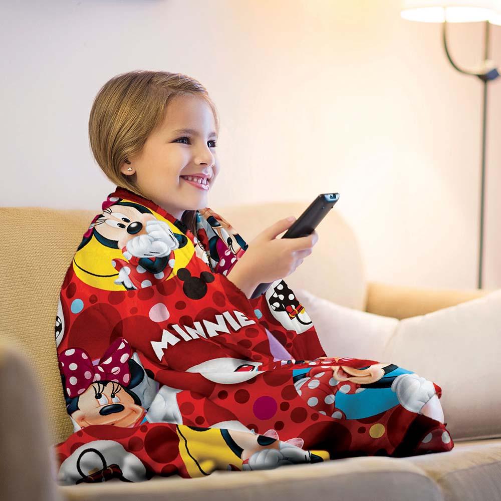 90ba5139bb Cobertor Infantil Minnie Fleece - Lepper - ShopCama