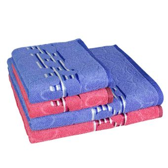 jogo-de-banho-4-pecas-sao-carlos-Rosa-Azul-Soleil