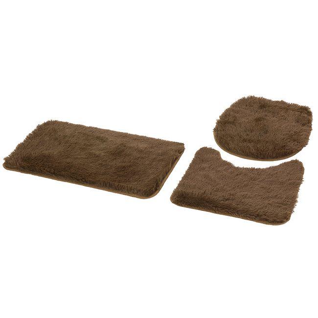 jogo-de-tapete-para-banheiro-3-pecas-bella-castanho-jolitex