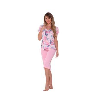 pijama-feminino-capri-liganete-microfibra-Rosa-senilha-6019-P