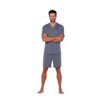 pijama-masculino-shorts-microfibra-liganete-cinza-senilha-6035-G