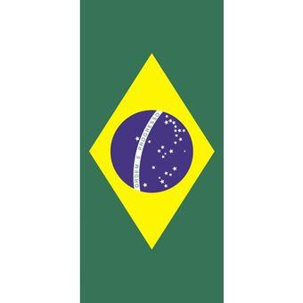 Toalha-de-Praia-Aveludada-Bouton-Bandeira-do-Brasil