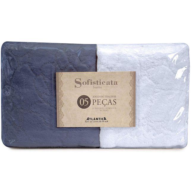 jogo-de-toalha-de-banho-atlantica-5-pecas-azul-claro-marinho-2195-2267