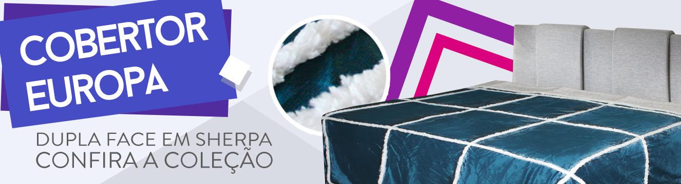 cobertor com sherpa europa