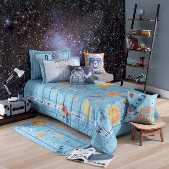 colcha-cobreleito-infantil-hedrons-com-porta-travesseiro-space-solteiro-shopcama