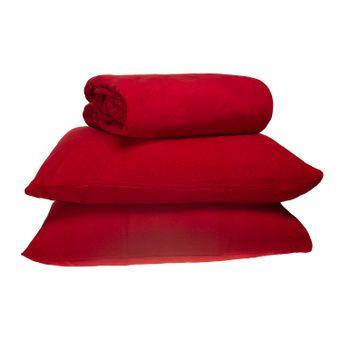 jogo-de-cama-de-plush-casal-europa-vermelho