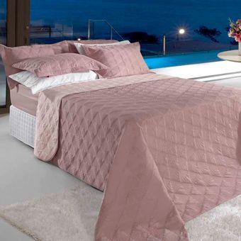Colcha-Cobreleito-Queen-Size-Rose-BBC-Textil-Ambientada-ShopCama