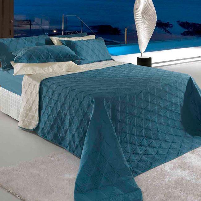 Colcha-Cobreleito-Queen-Size-Azul-BBC-Textil-Ambientada-ShopCama