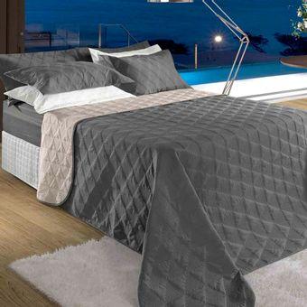 Colcha-Cobreleito-Queen-Size-Cinza-BBC-Textil-Ambientada-ShopCama