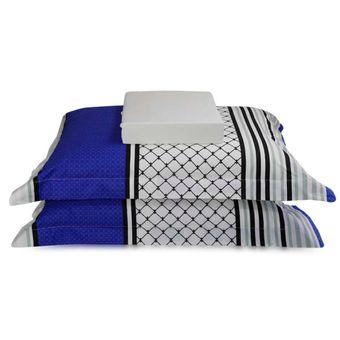 Jogo-de-Cama-Queen-Size-200-Fios-3-Pecas-BBC-Textil-Azul-e-Branco