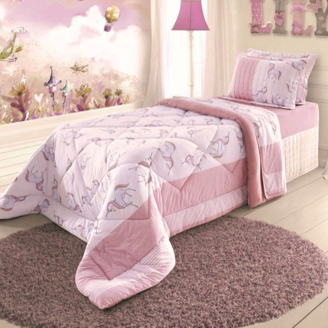 Edredom-Infantil-Unicornio-Ambientada-BBC-Textil