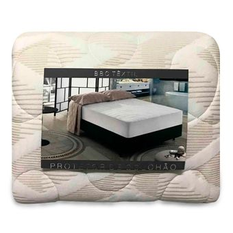 Protetor-de-Colchao-Solteiro-Impermeavel-Bege-BBC-Textil