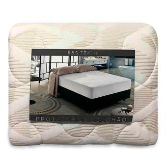 Protetor-de-Colchao-King-Size-Impermeavel-Bege-Matelasse-BBC-Textil