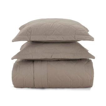 Colcha-King-Size-Karsten-180-Fios-Liss-Taupe