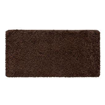 Tapete-passadeira-Pelo-Alto-Chocolate-Jolitex-50x100cm