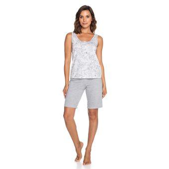Pijama-Feminino-Shorts-e-Regata-Senilha-Mescla-6275-Tamanho-P