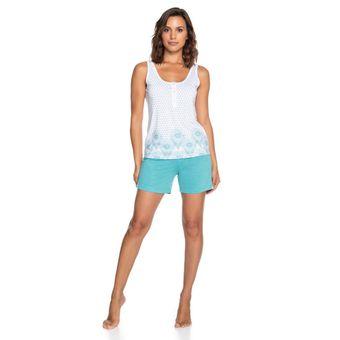 Pijama-Feminino-Regata-e-Shorts-Malha-Senilha-6281--P-Verde