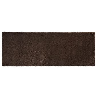 Tapete-passadeira-marrom-chocolate-pelo-alto-jolitex-66x180cm