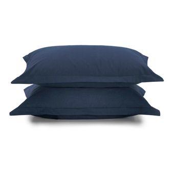 Par-de-Fronha-Karsten-180-Fios-Azul-Marinho