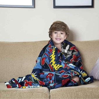 Manta-Infantil-para-Sofa-Spider-Man-Fleece-Lepper
