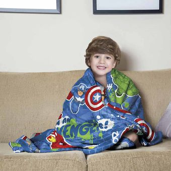 Manta-Infantil-para-Sofa-Avengers-Fleece-