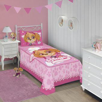 Jogo-de-Cama-Infantil-Patrulha-Canina-Meninas-3-Pecas-Lepper