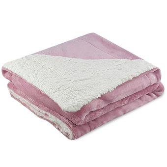 Cobertor-para-Bebe-Dupla-Face-Carneirinho-Sherpa-Rosa-ShopCama