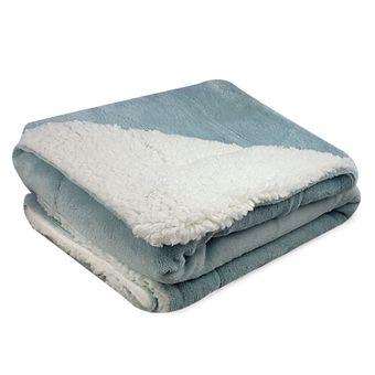 Cobertor-para-Bebe-Dupla-Face-Sherpa-Carneirinho-Azul-ShopCama