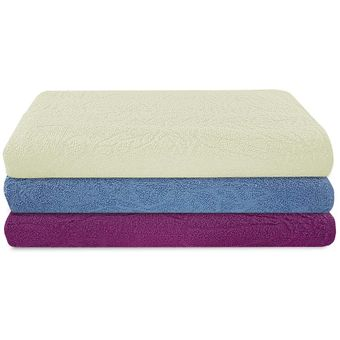 Kit-de-Toalhas-de-Banho-3-Pecas-Sultan-Azul-Creme-Pink