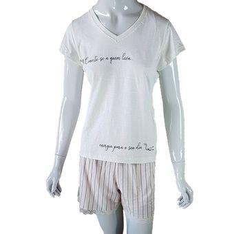 Pijama-Feminino-Tamanho-M-Shorts-e-Camiseta-Pzama-Paris-ShopCama