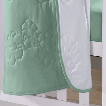 Edredom-para-Berco-Buettner-Verde-ShopCama